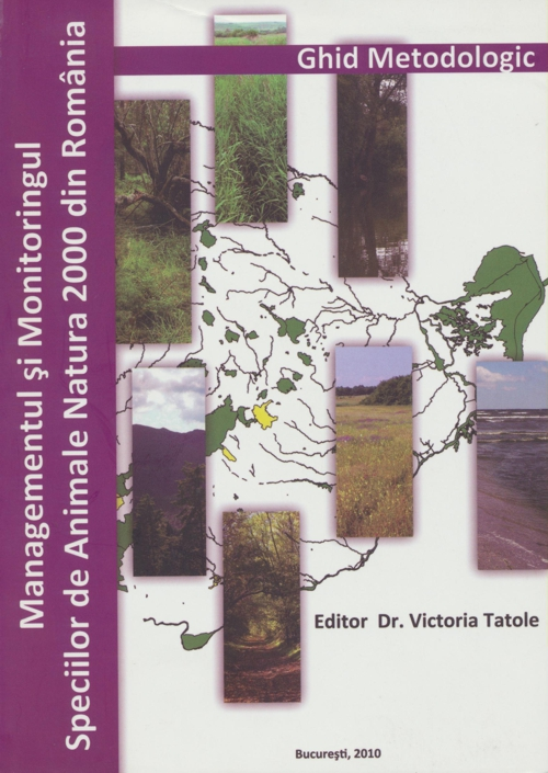 Cover of Managementul si monitoringul speciilor de animale Natura 2000 din Romania